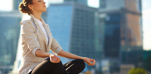 meditate in your lunch hour!