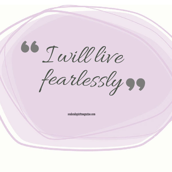 affirmations fearless